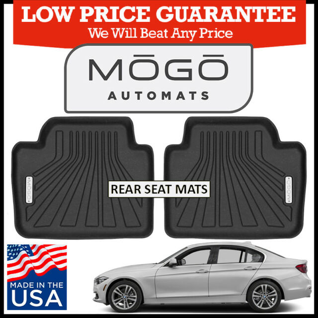 Mogo By Husky Liners Luxury Floor Mats Fit 2012 2018 Bmw 3 Series Sedan Wagon