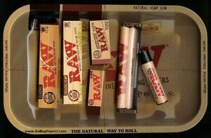 TIPS MACHINE TUBE KING SIZE CLASSIC /& HEMP PAPERS RAW ROLLING BUNDLE TRAY