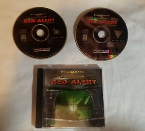 Command & Conquer Red Alert Game (CD-ROM) (PC, 1996) *Game Disk and inserts Only