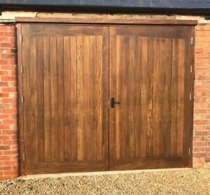 Image Is Loading Bespoke Wooden Garage Doors Made To Measure High