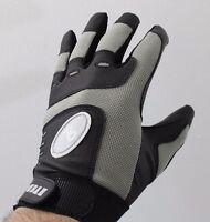 (2) Pairs Boombah Baseball Softball Batting Gloves Youth Large Black / Gray