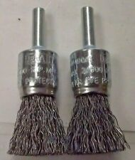 """Anderson 066-07091 Crimped Wire Solid End Brushes-NS Series 3//4/"""" Diam"""