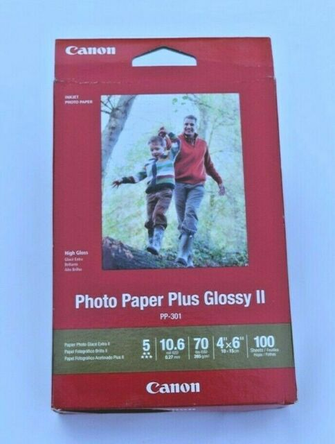 "Canon Photo Paper Plus Glossy II 4"" x 6""   100 Sheets"
