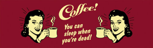 EMAUX Gobelet 0,33 l-coffee-YOU CAN SLEEP WHEN YOU Are Dead-bb02 Tasse
