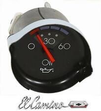 El Camino New Oil Pressure ,Voltmeter ,Temperature, Fuel Gauges 1986 1987