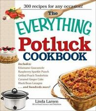 The Everything Potluck Cookbook - LikeNew - Larsen, Linda - Paperback
