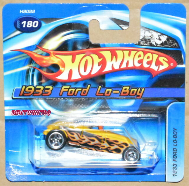 Hot Wheels 2005 1933 Ford Lo-Boy #180 Corto Carta