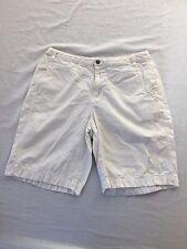 Columbia Cotton Shorts Off-White Size 10