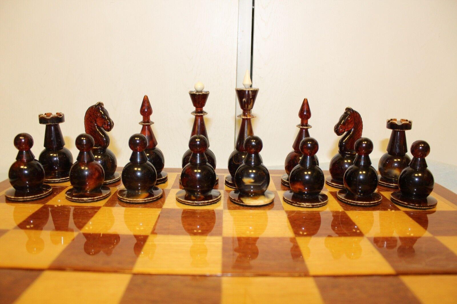 Vintage Vintage Vintage Soviet Gift Chess. 1970s 27e5d8