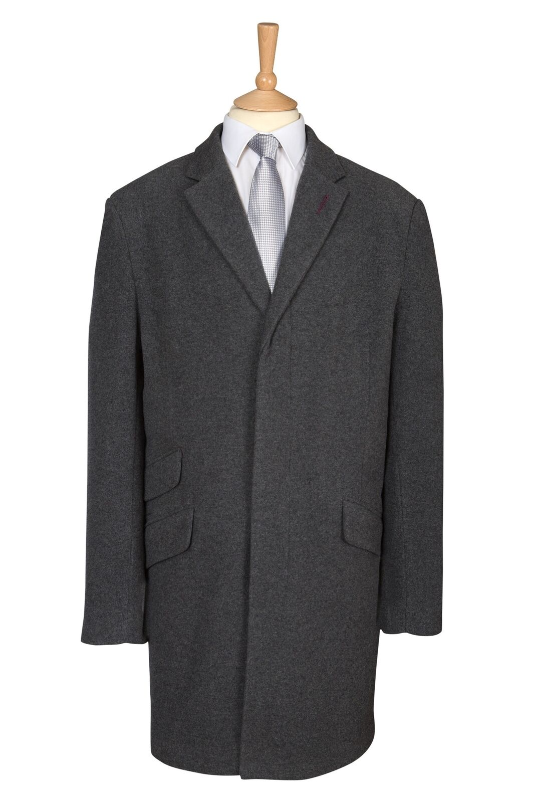 Charcoal Grey Warm Winter Over Coat