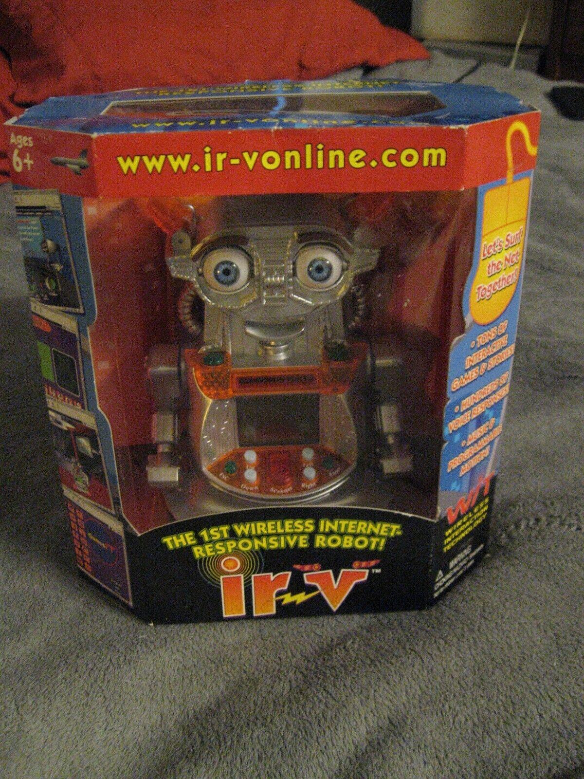 Ir-Vonline Irv Vintage 2001 1st senza Fili Internet Computer Robot Giocattolo