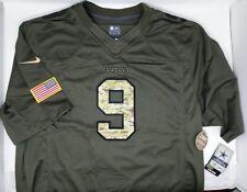 Nike Dallas Cowboys Salute to Service Camo Jersey Stitched Tony Romo 9 2xl 47ce07cd9