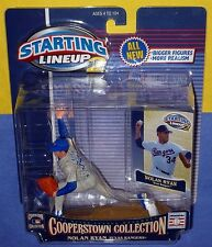 2001 NOLAN RYAN Hall of Fame Cooperstown Texas Rangers Starting Lineup 2