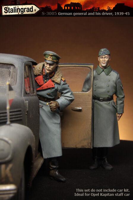 Stalingrad 1 35 German General and his Driver 1939-45