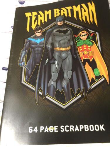 New TEAM BATMAN 64 Page  Scrapbook