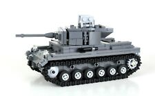 German Panzer Tank World War 2 Complete Set made w/ real LEGO® bricks