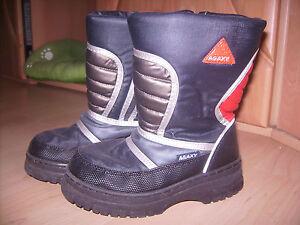 newest a0688 bec3b Details zu AGAXY DEICHMANN warmer Winterstiefel Schuhe Schnee Stiefel Boots  GRAUBLAU Gr. 31