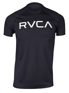 RVCA-Mens-VA-Sport-Micro-Mesh-SS-Surf-T-Shirt-Black