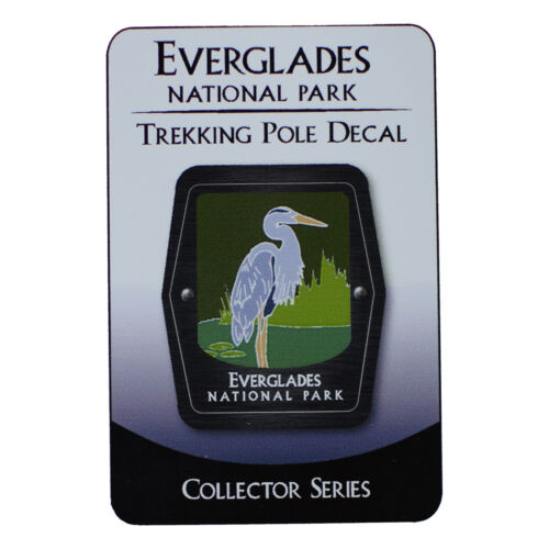 Egret Everglades National Park Trekking Pole Decal Florida