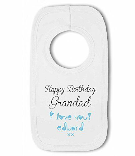 Joyeux Anniversaire Grand-père.. Je vous aime avec personnalisé nom-Baby Pullover B....