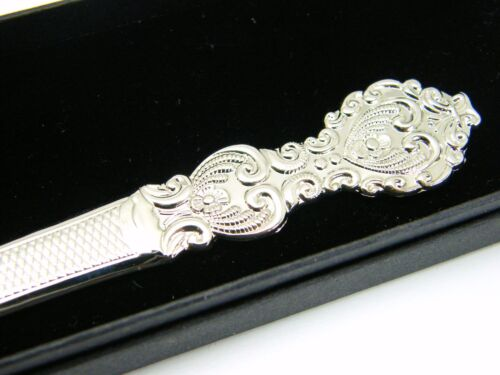 THE ROYAL ARMY SERVICE CORPS BADGE LETTER OPENER MILITARY GIFT IN BOX