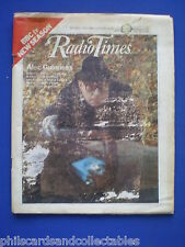 Radio Times - Alec Guinness Smileys People  18th - 24th September  1982