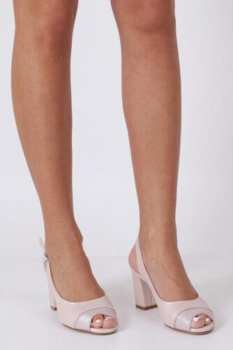 Damen Sandaletten Sergio Leone Blockabsatz//Keilabsatz Modisch Sommerschuhe