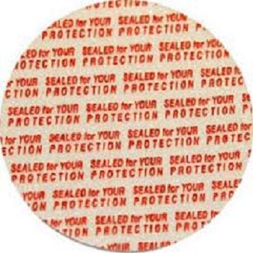 bag of 50 58mm Press /& Seal Safety Liners Tamper foam seal bottles /& jars