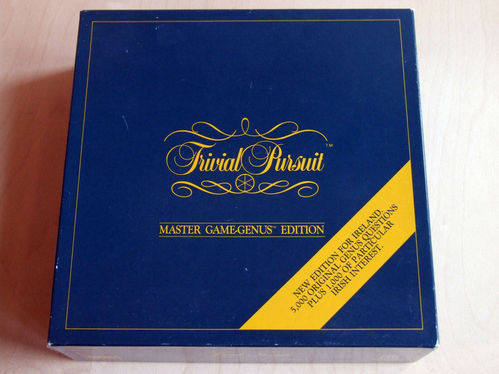 Trivial PURSUIT GENUS EDITION ‒ ‒ VERSIONE IRLANDESE (PARKER Horn Abbot, 1987)