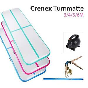 3m-4m-5m-6m-Turnmatte-Air-Track-Turnen-Gymnastikmatte-Tumbling-Matte-Aufblasbar