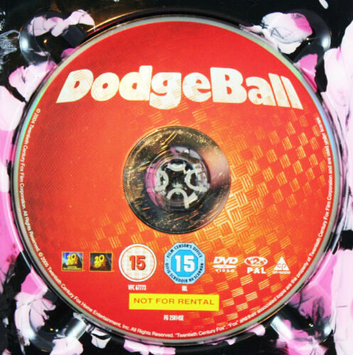 1 of 1 - DODGE BALL DVD Movie Film - DISC ONLY *