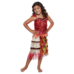 Moana Disney Voyager Outfit Costume Voyager Moana Outfit Size 3 Fits 4-6X NEW