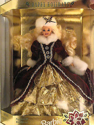 Happy Holidays 1996 Barbie Doll