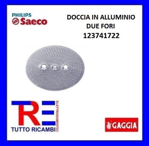 DOCCIA IN ALLUMINIO DUE FORI MACCHINA CAFFE/' SAECO POEMIA VIA VENETO 123741722