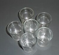 New-set Of 6 Shot Clear Glass,drink,cup,tealight Holder