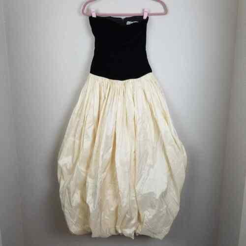 Carolina Herrera vintage bustier dress