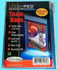500 Max Pro Resealable Sports Card Team Bags 1 Pack Ultra Uv