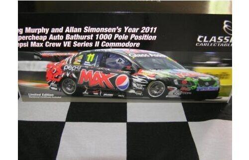 1 18 Classic Greg Murphy Allan Simonsen Bathurst Pole Pepsi VE 2011 18489