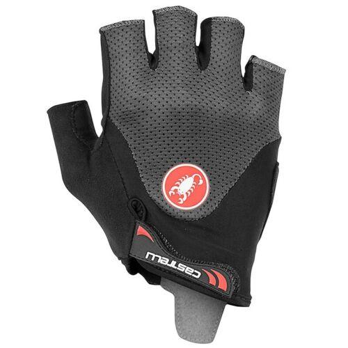 Castelli Arenberg Gel 2 Summer Cycling Gloves Dark Grey