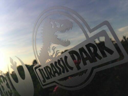 Jurassic Park logo Vinyl Decal Sticker 14cm black for Car Wall Laptop etc