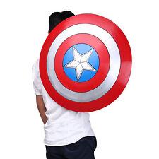 US FAST!Avengers Captain America Shield Iron Replica Cosplay Prop Bar Decoration