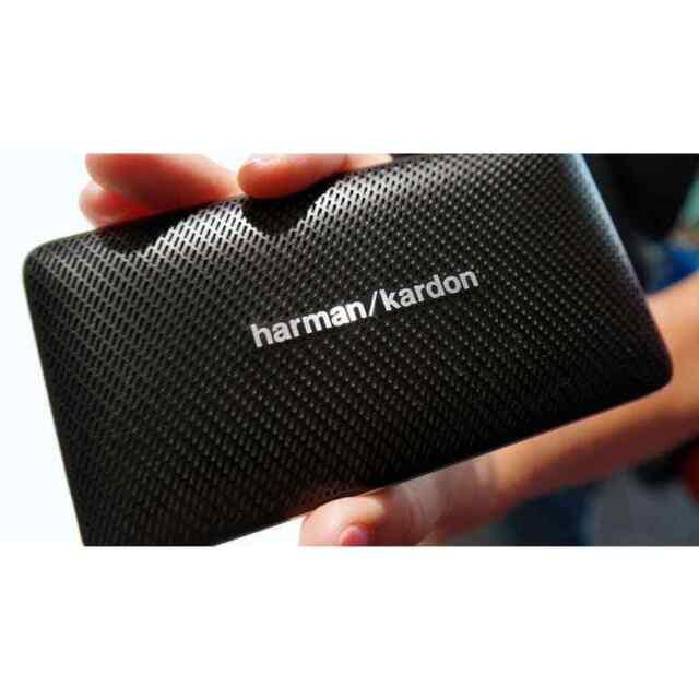 Harman Kardon ESQUIRE MINI Portable Wireless Bluetooth Speaker w// Mic Black