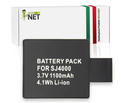 Batteria di ricambio compatibile con Qumox SJCAM SJ6000 Wifi SJ5000 Plus
