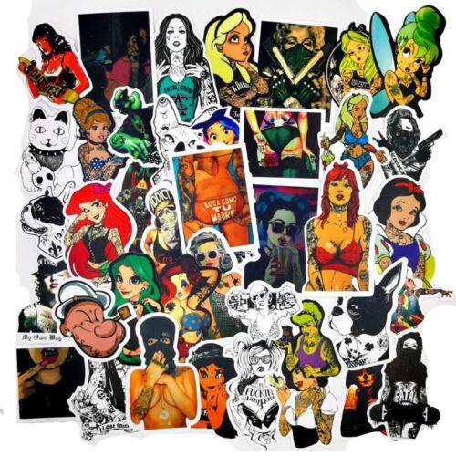 100 Bomb Stickers Graffiti Vinyl For Car Skateboard Sticker Laptop Luggage Decal