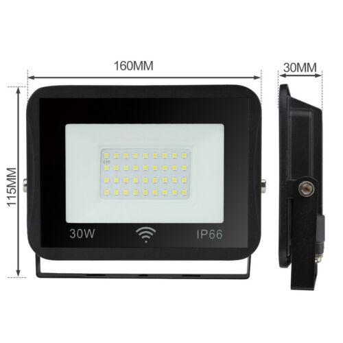 LED Fluter mit Bewegungsmelder Flutlicht Strahler IP66 Hotel SMD 10W 50W