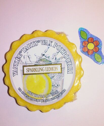 YANKEE CANDLE SPARKLING LEMON  WAX TART COMBINED SHIPPING TONS LISTED