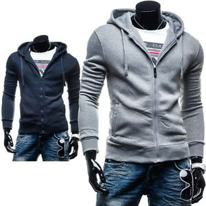 BOLF-New-Fashion-HH60-Herren-Kapuzenpullover-Sweatjacke-Kapuze-Hoodie-1A1-SALE
