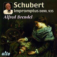 CD SCHUBERT IMPROMPTUS D899 D935 & MOMENTS MUSICAUX D780 ALFRED BRENDEL 1960s
