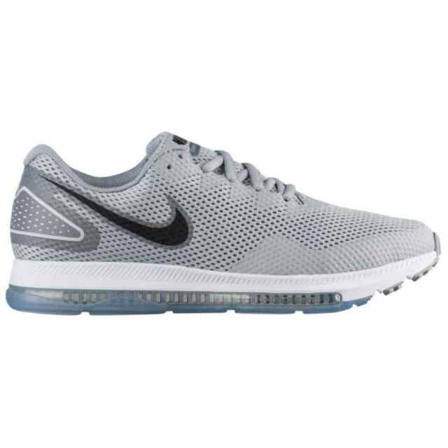 8f14e12ea368c Nike Zoom All out Low 2 Mens Aj0035-005 Wolf Grey Mesh Running Shoes Size  8.5