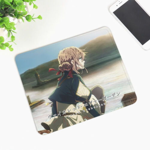 Anime Violet Evergarden ヴァイオレット・エヴァーガーデン Small Size 20*24CM Gel Gaming Mouse Pad